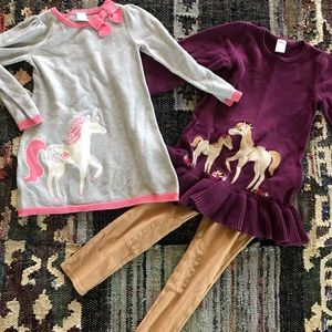Gymboree Horse Set size 4 & 5